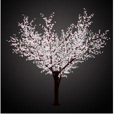 """Светодиодное дерево Neon-night """"Сакура"""" белый 3.6 м, Ø 3 м IP 65"""