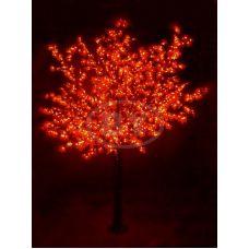 "Светодиодное дерево Neon-night ""Сакура"" красный 3.6 м, Ø 3 м IP 54"