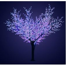 "Светодиодное дерево Neon-night ""Сакура"" синий 3.6 м, Ø 3 м IP 65"