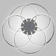 Светодиодный потолочный светильник Eurosvet 90039/5 хром